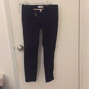 Gap ultra skinny black pants 0R